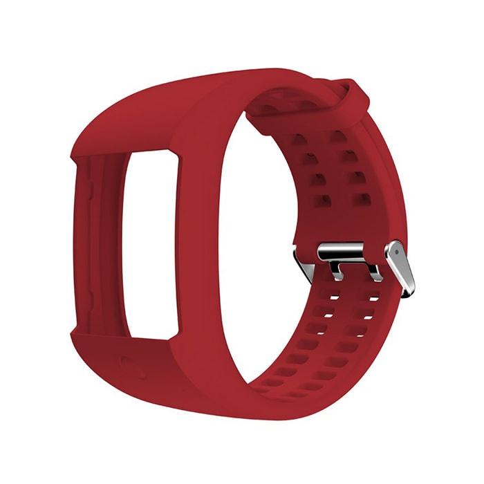 Ремешок для фитнес-браслета Polar 91059824, красный