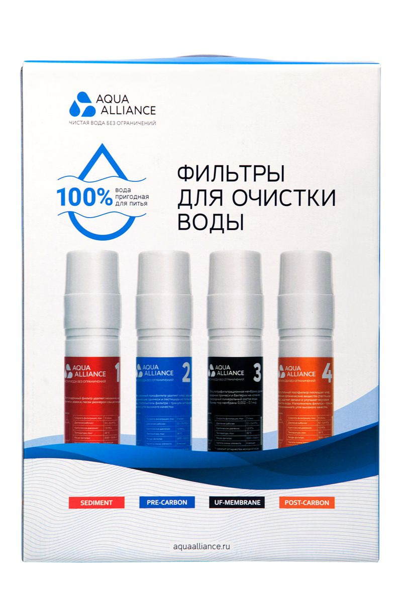 Фильтр для кулера AEL Aqua Alliance, 4 шт