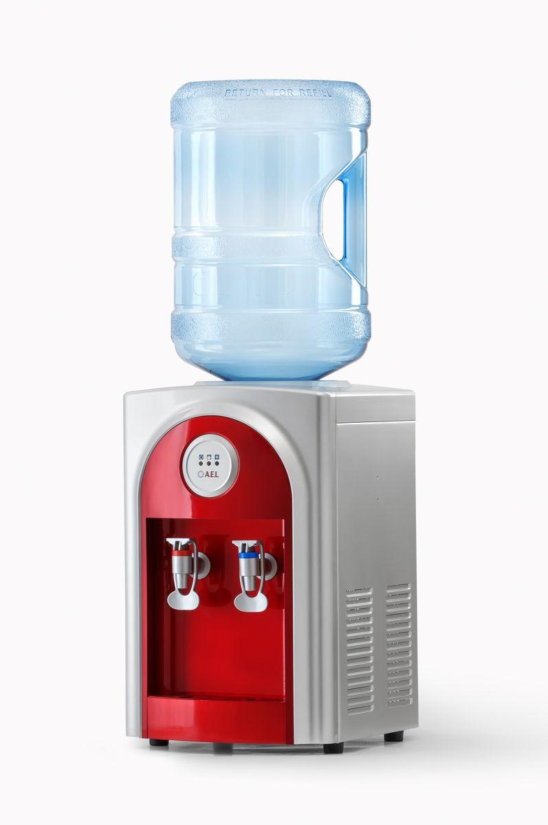 Кулер для воды AEL 131 TD, красный AEL