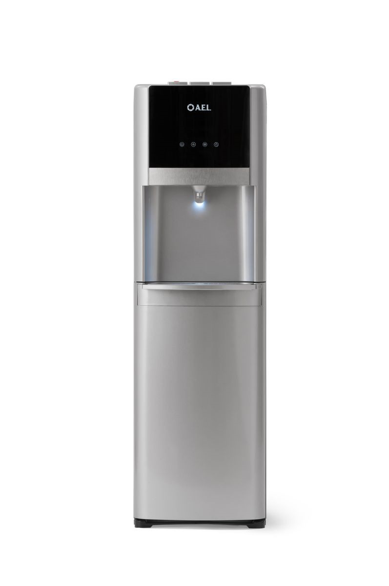 Кулер для воды AEL 809a LC, серебристый кулер для ноутбука