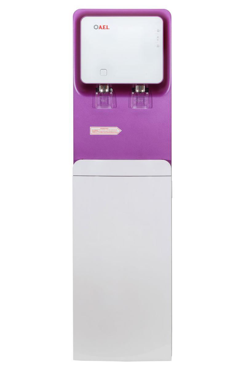 Кулер для воды AEL 570s LC, белый, пурпурный