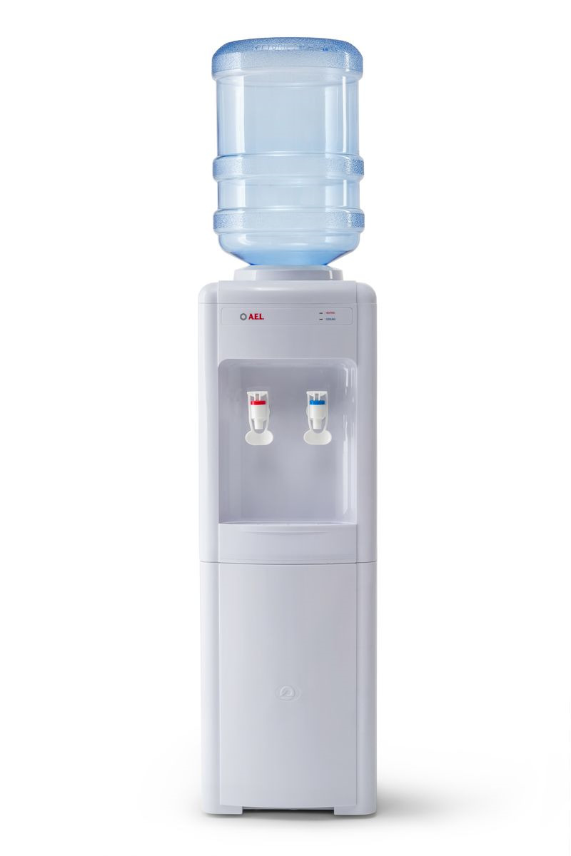 Кулер для воды AEL 16 LC (16L) v.2, белый цена и фото
