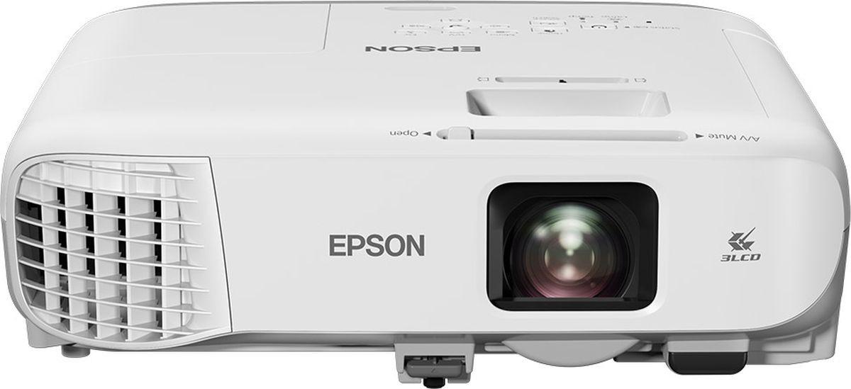 Проектор для аудиторий Epson EB-980W, V11H866040, белый