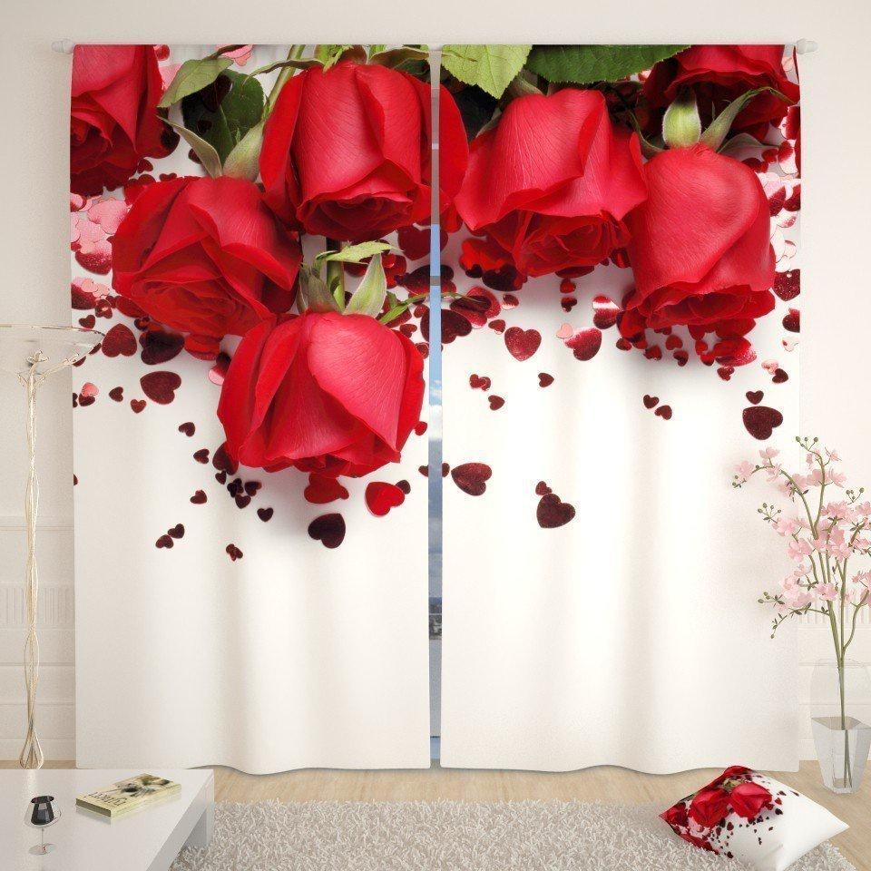 Фотошторы Праздничные розы стоимость
