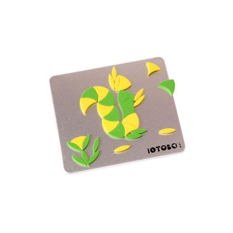 Магнитная мозаика-головоломка IOTOBO, CD-формат