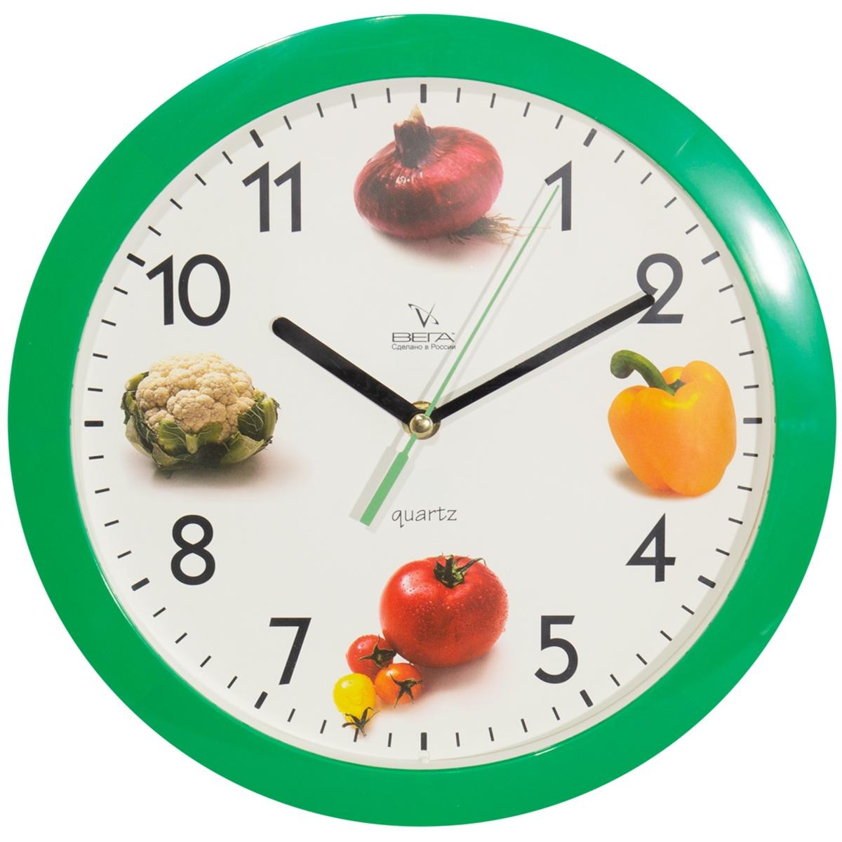 Настенные часы Овощи
