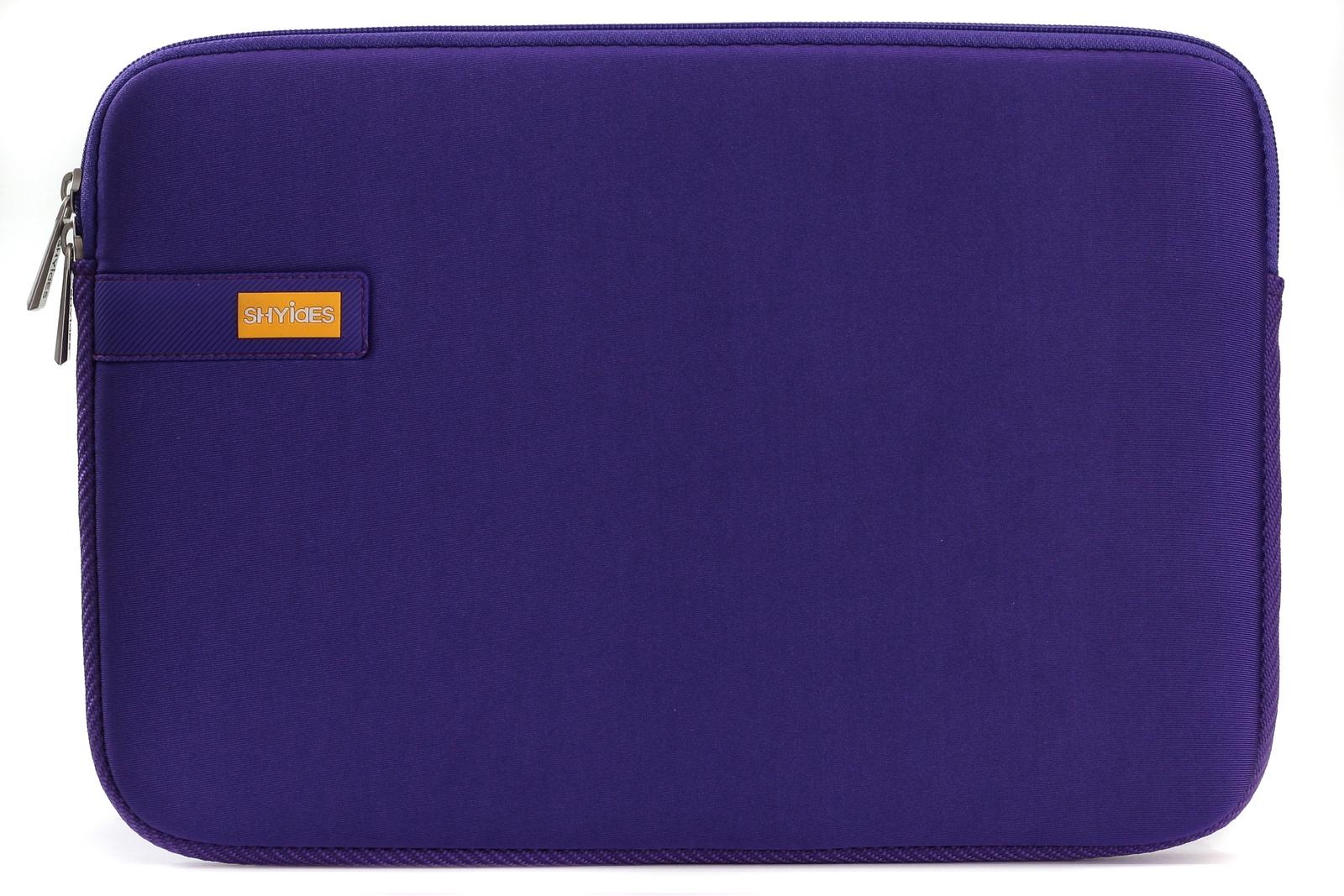 Чехол сумка SHYIDES для ноутбука 12, фиолетовый
