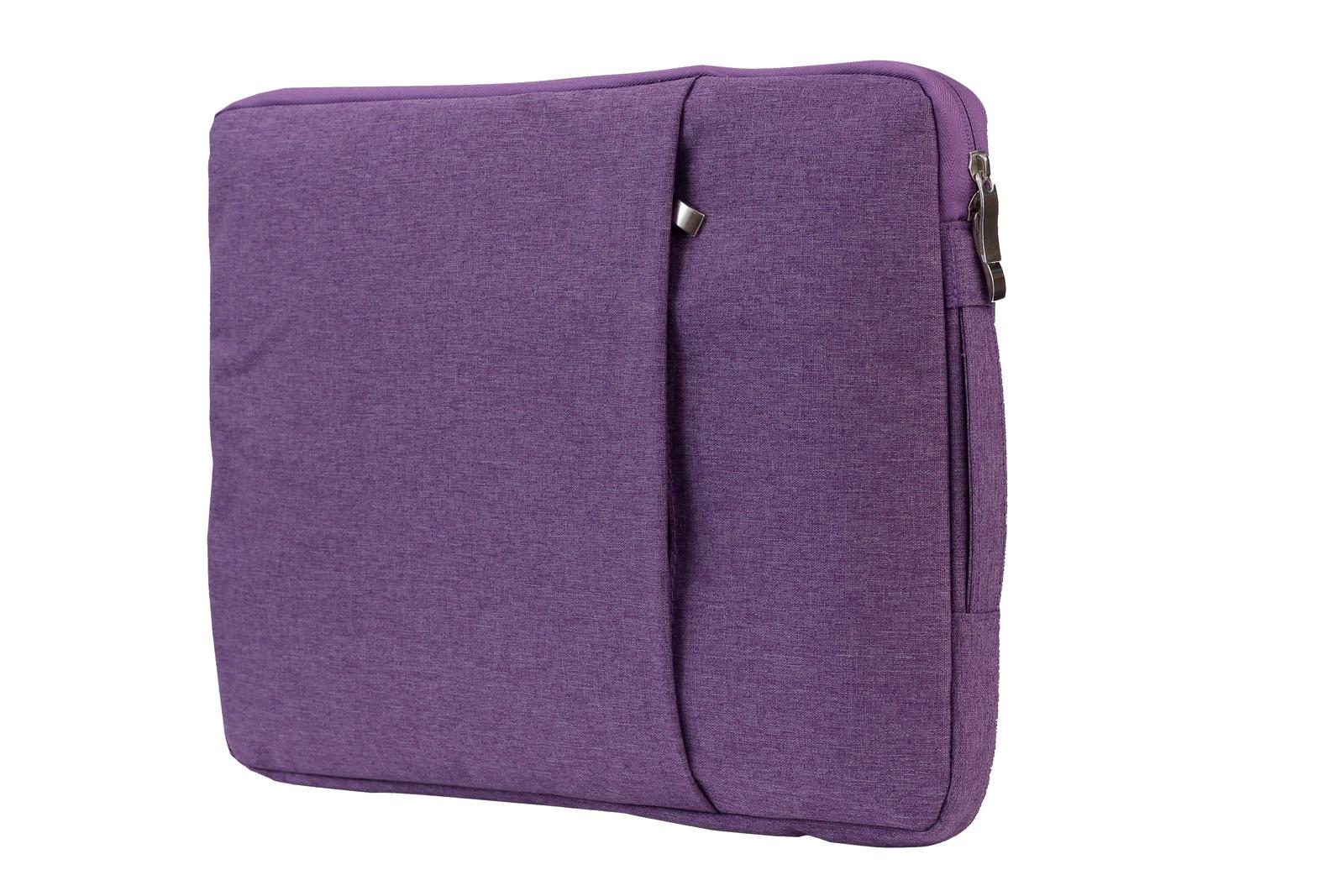 Чехол сумка SHYIDES с ручкой для ноутбука 12, Сиреневый