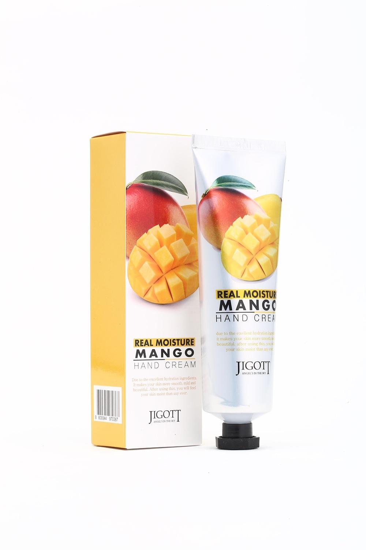 Увлажняющий крем для рук JIGOTT с маслом манго Real Moisture Mango Hand Cream