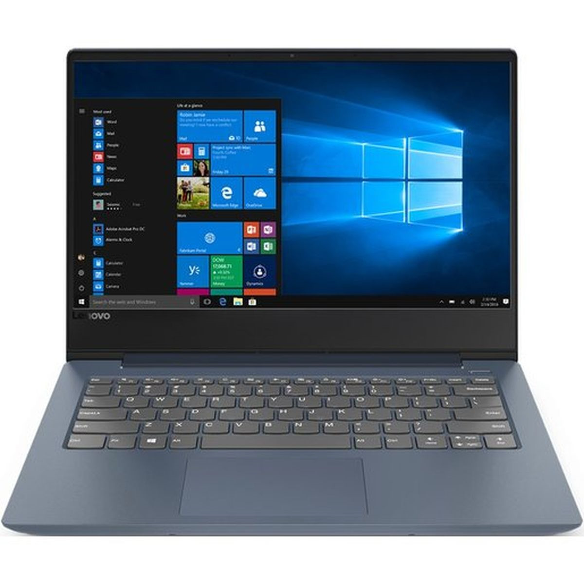14 Ноутбук Lenovo IdeaPad 330S 81F401BSRU, синий ноутбук lenovo ideapad 330s 14ikb 81f401dbru intel® core™ i5 8250u kaby lake r 6 мб smartcache 1 60 ггц 4 гб 256 ssd 14 1920 х 1080 full hd ips intel uhd graphics 620 sma выделяется