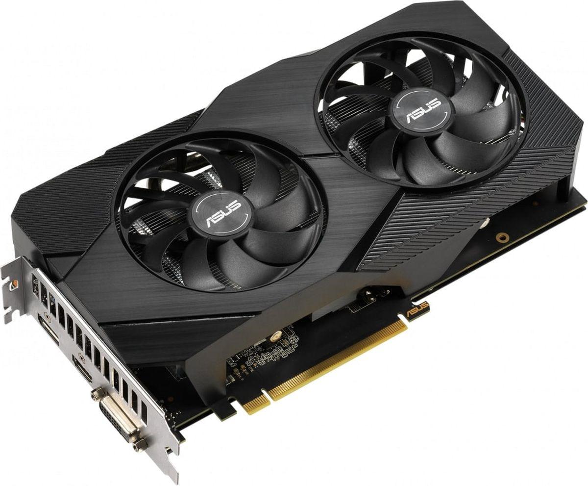 Видеокарта ASUS Dual GeForce GTX 1660 OC EVO 6GB, DUAL-GTX1660-O6G-EVO цена