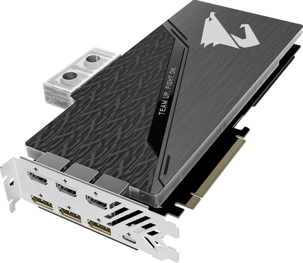 Видеокарта Gigabyte AORUS GeForce RTX 2080 XTREME WATERFORCE WB 8GB, GV-N2080AORUSX WB-8GC msd6a628vx wb