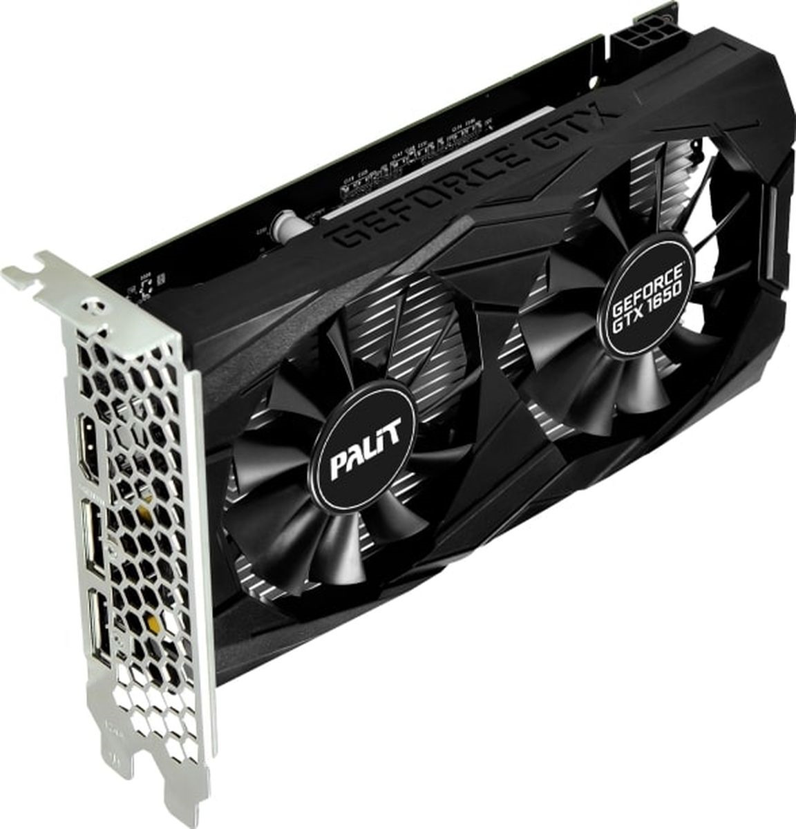 Видеокарта Palit GeForce GTX 1650 Dual 4GB, NE5165001BG1-1171D видеокарта palit pa gtx1060 dual 3g