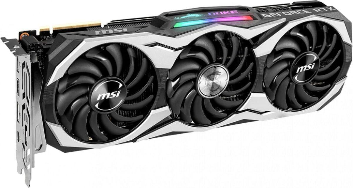 Видеокарта MSI GeForce RTX 2080 DUKE OCV1 8GB, 8G