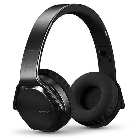 Фото - Наушники Bluetooth SODO MH3 - Черные беспроводная bluetooth колонка edifier m33bt