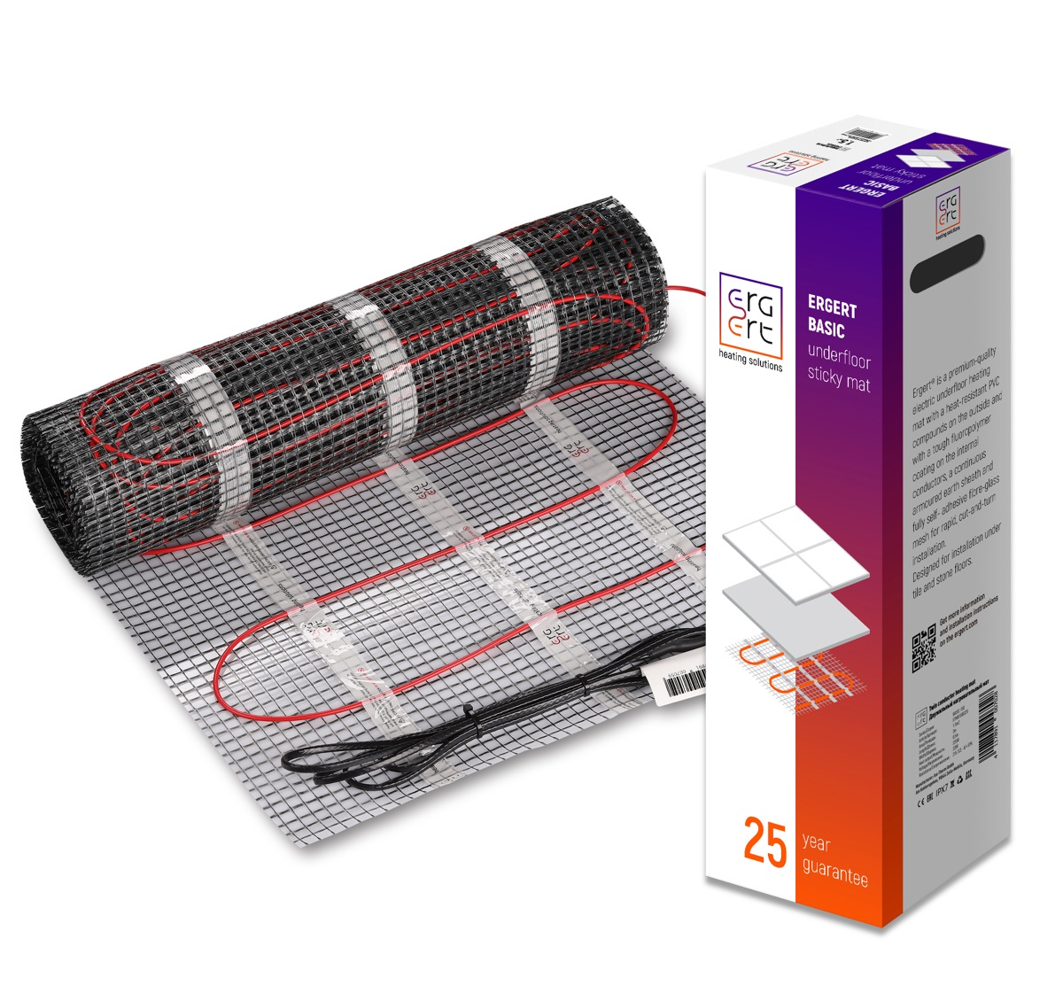 Нагревательный мат Ergert BASIC-150 450 Вт, 3 кв.м. тёплый пол нагревательный мат devi 450 вт 3 м2