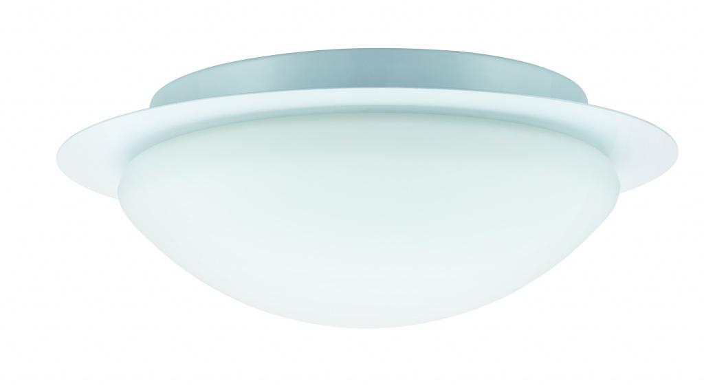Светильник настенно-потолочный 1x60W W-D Vega 230V E27 Белый/Опал светильник paulmann vega pl 70347