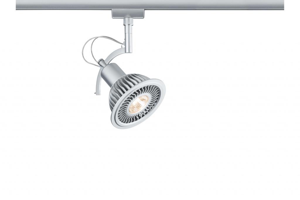 Светильник URail Sys. LED Spot Roncalli II 1x11, хром матовый трековый светодиодный светильник paulmann urail roncalli 95280