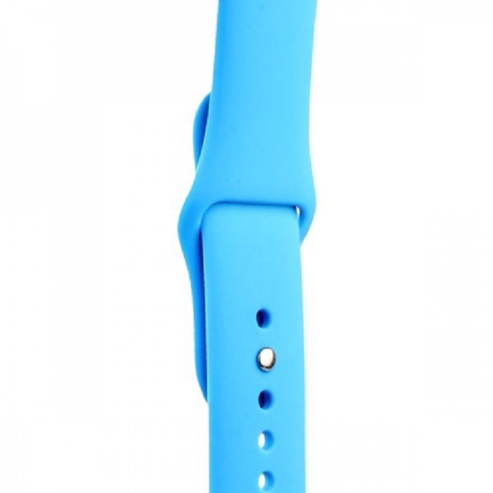 Ремешок COTEetCI W3 Sport Band (CS2085-BL) для Apple Watch series 1/2/3 38/40mm Blue подставка just mobile hoverdock st 368 для apple watch алюминий серебристый