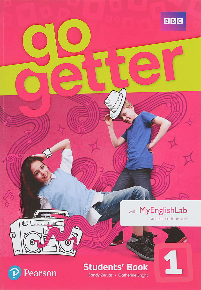 GoGetter 1 Students' Book with MyEnglishLab Pack friends 1 global students book