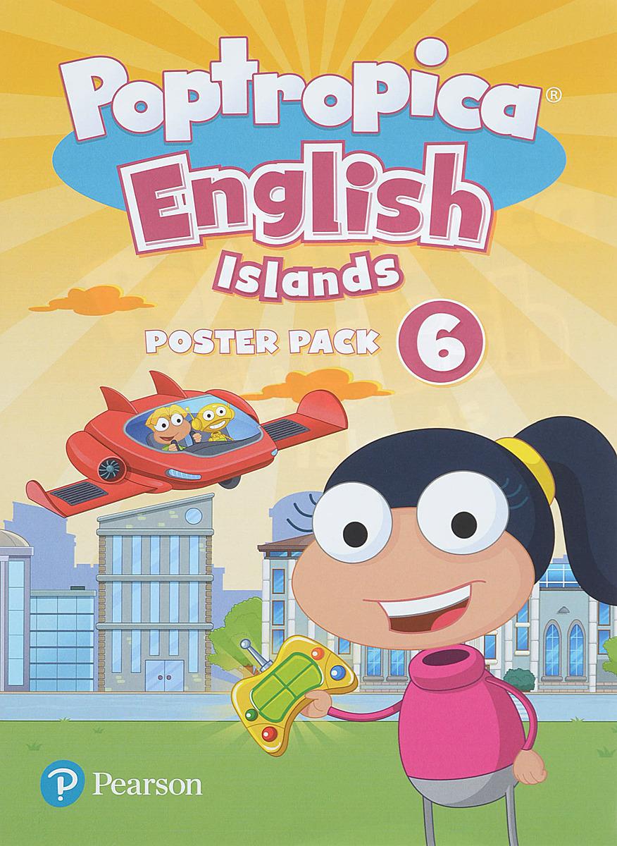 лучшая цена Poptropica English Islands 6 Posters