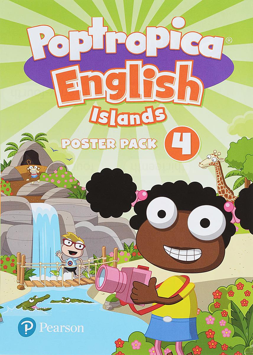 лучшая цена Poptropica English Islands 4 Posters