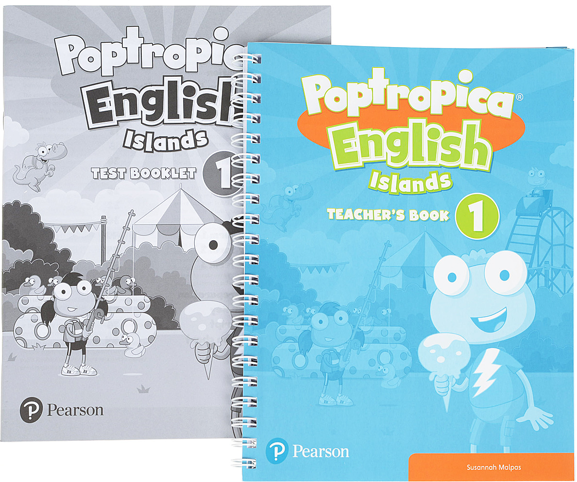лучшая цена Poptropica English Islands 1 TB/Test Book