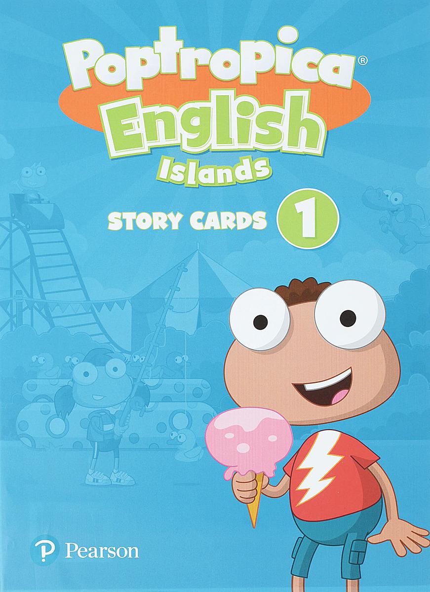 лучшая цена Poptropica English Islands 1 Storycards