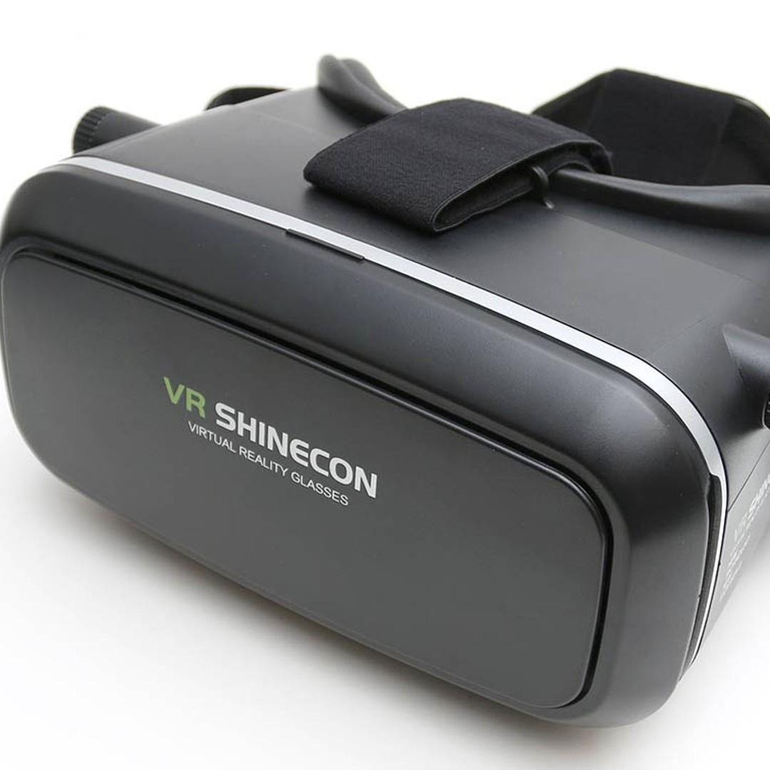 Очки виртуальной реальности высокое качество Shinecon 3D,черные очки виртуальной реальности vr shinecon