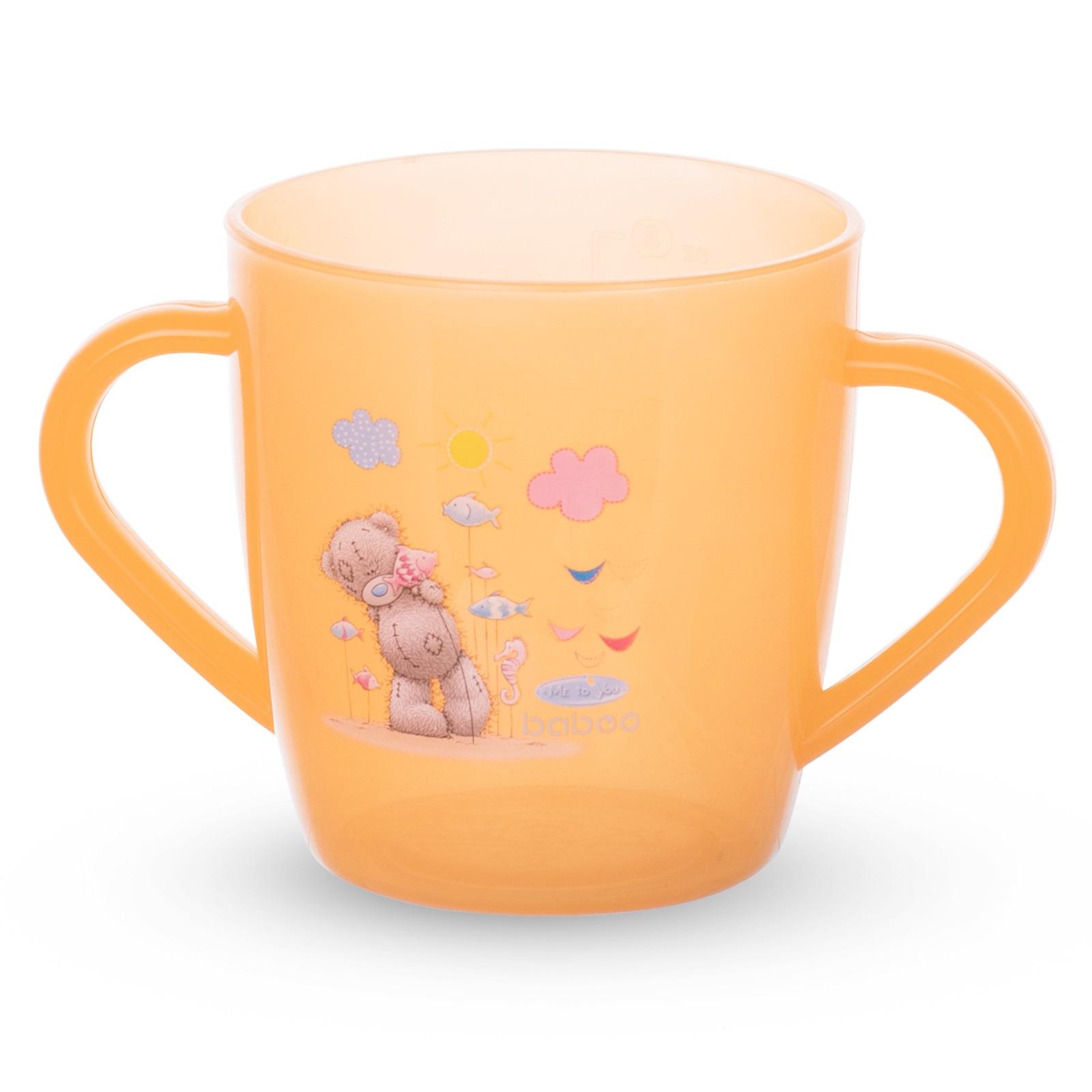 Фото - Чашка с ручками BABOO Me to You 200 мл. [супермаркет] jingdong геб scybe фил приблизительно круглая чашка установлена в вертикальном положении стеклянной чашки 290мла 6 z