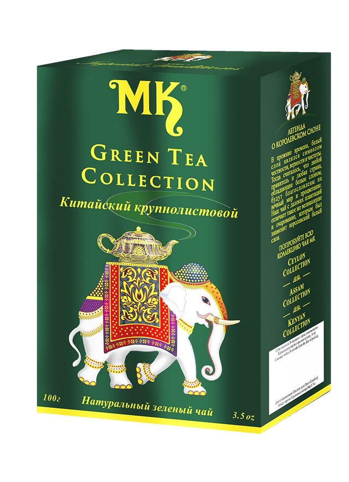 ГРИН ТИ КОЛЛЕКШН,чай зеленый китайский крунолистовой 100 г касио коллекшн