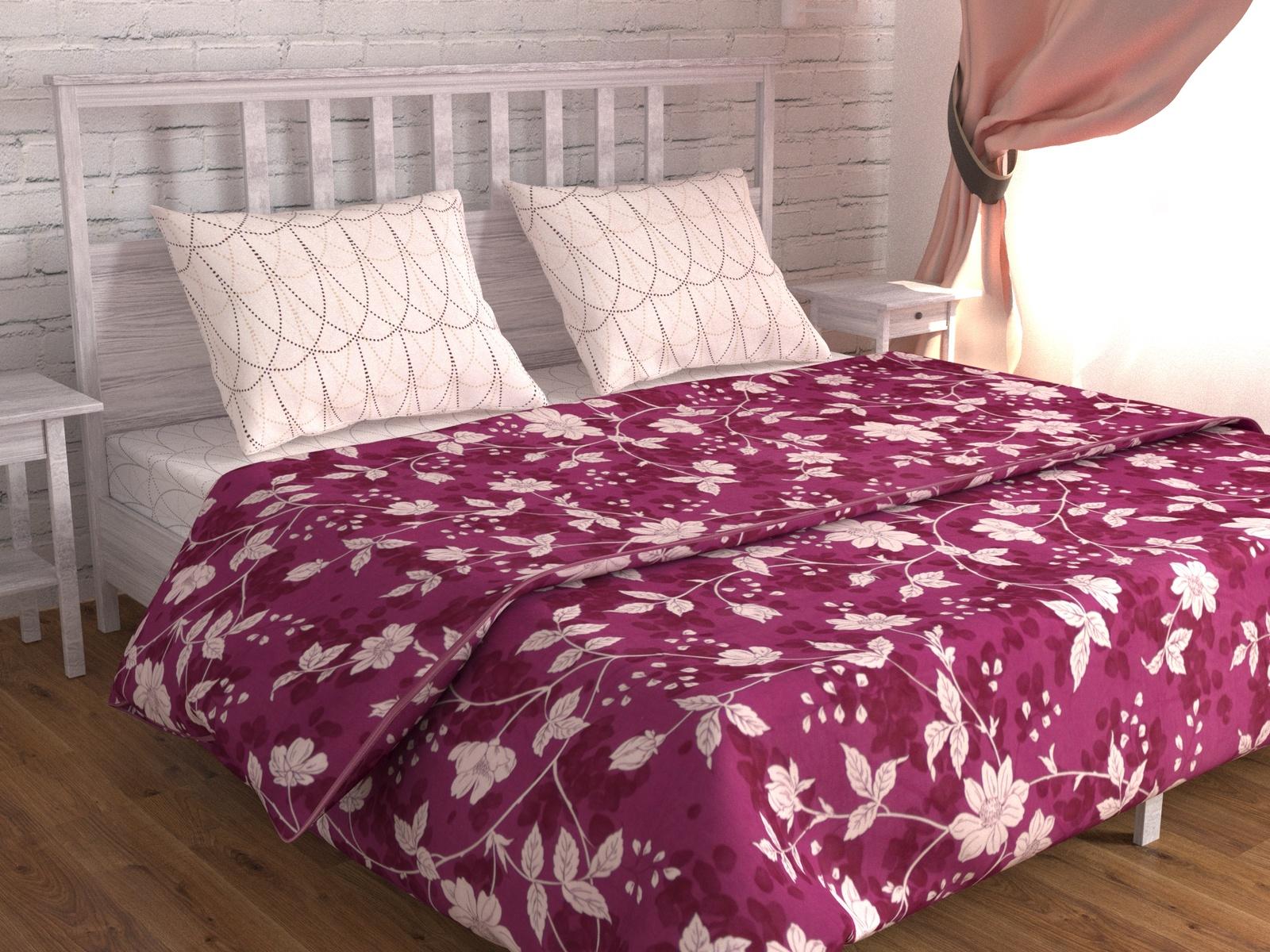 цена Постельное белье Зона сна молочный,фиолетовый 194-KPB50EvR-ZS Евро онлайн в 2017 году