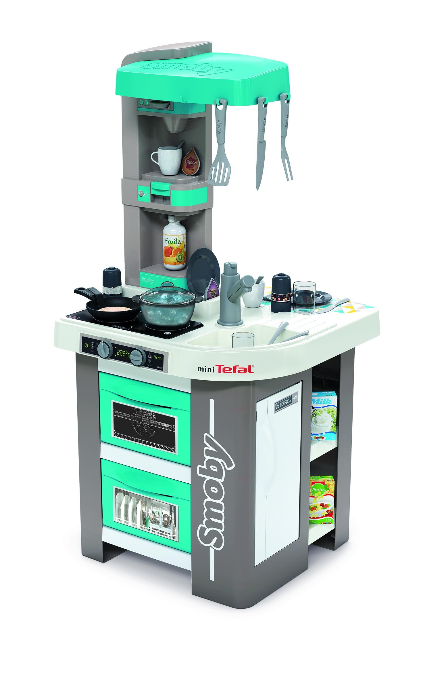 Кухня электронная Tefal Studio, пузырьки, 28 акс., 48х46,5х99 см цена и фото