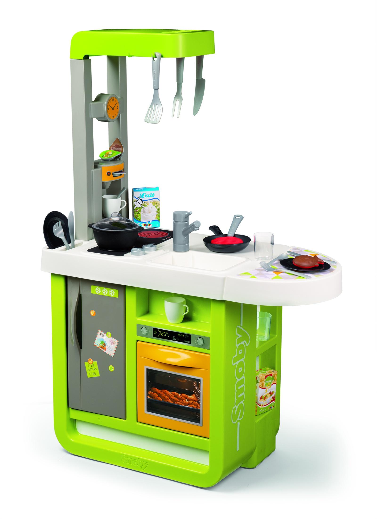 Кухня электронная Cherry, звук, 25 акс., 66,5х32х95,7 см smoby кухня электронная tefal super chef deluxe звук пузырьки 46 аксессуаров 311304