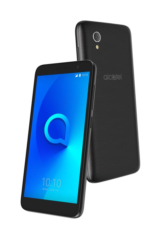 Смартфон Alcatel 1 5033D 1/8GB, черный смартфон alcatel 1 5033d 8gb blue