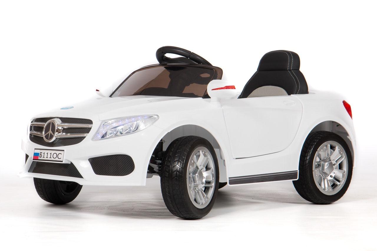 Электромобиль BARTY Mercedes-Benz Б111ОС белый
