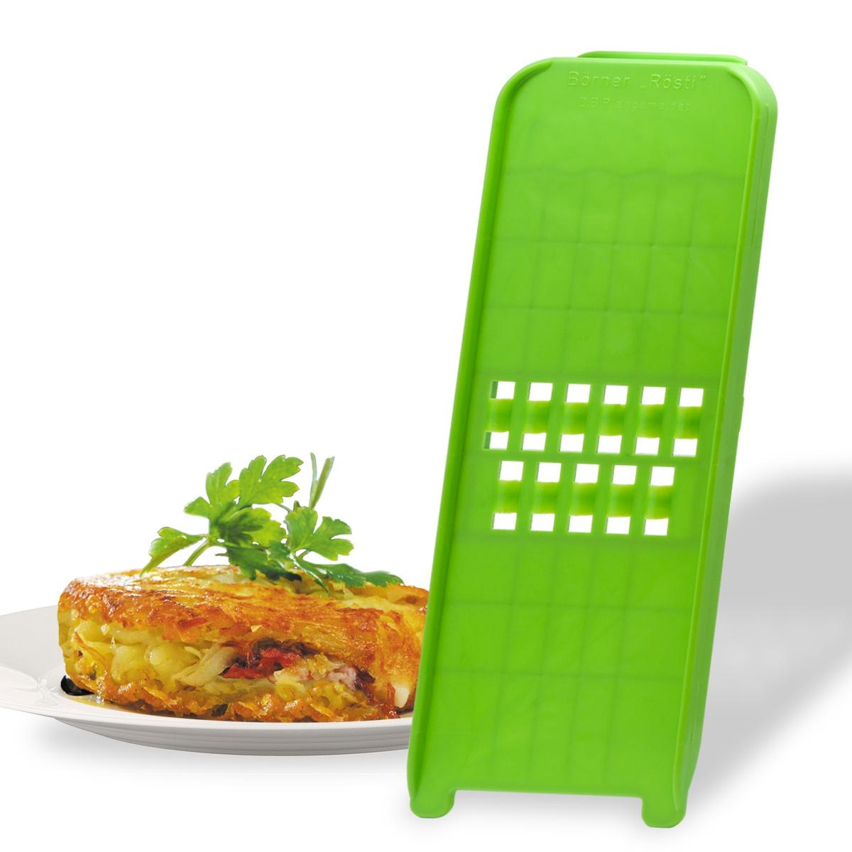 Рести-терка Borner Classic (Германия), цвет: салатовый овощерезка для декораций borner классика германия цвет салатовый
