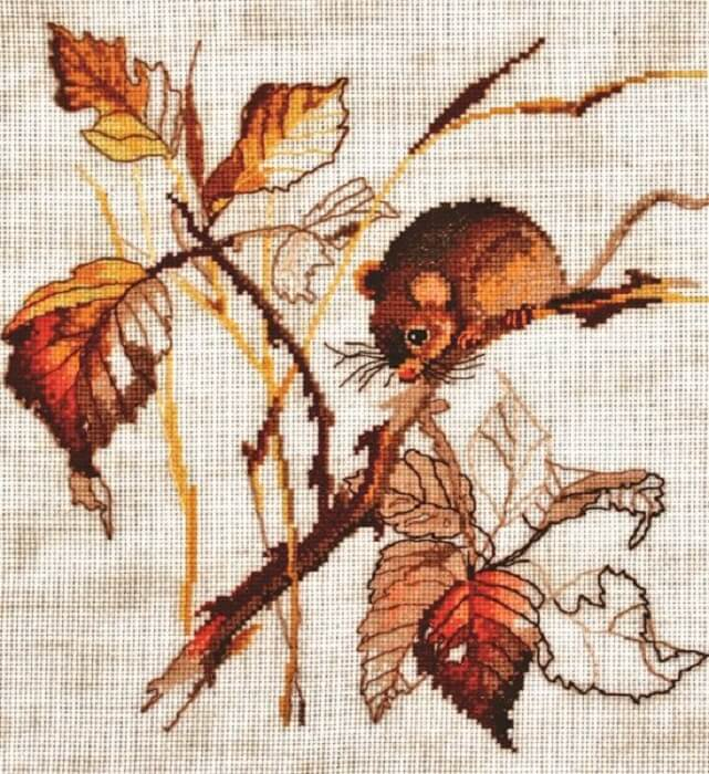 """Набор для вышивания Alisena """"Золотая осень"""""""