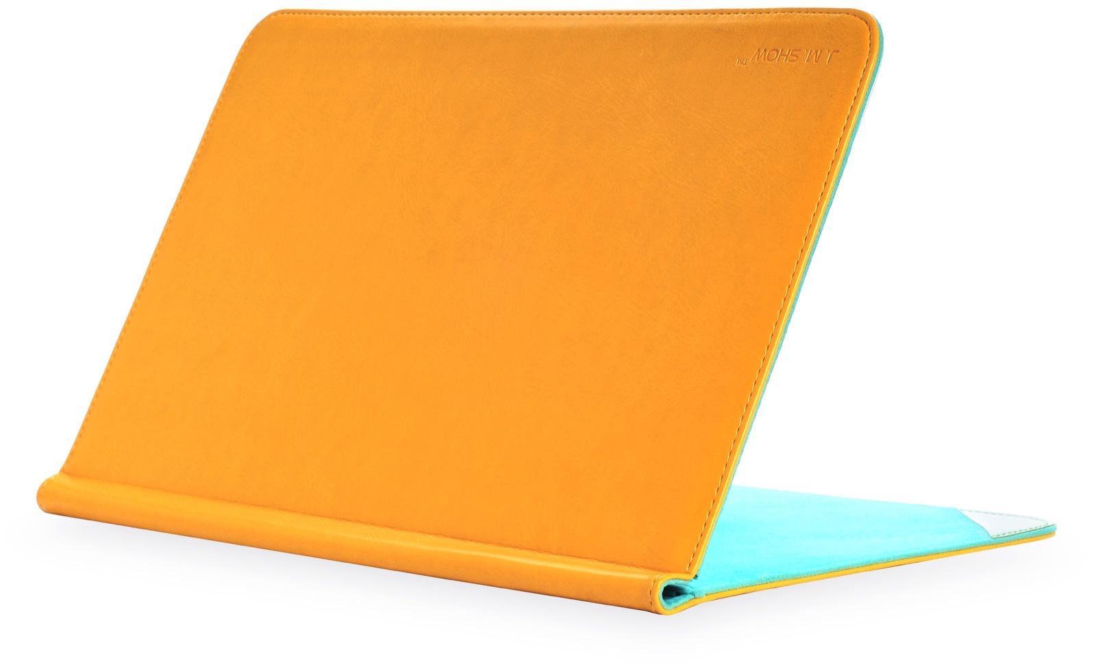 Чехол для ноутбука Gurdini J.M.Show книжка кожа 220058 для MacBook Air 11 ,220058, желтый крышка ноутбука