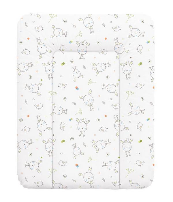 накладки для пеленания ceba baby накладка для пеленания с изголовьем 50х80 Матрац пеленальный Ceba Baby 70x50 см мягкий на комод Azteca W-143-101-554
