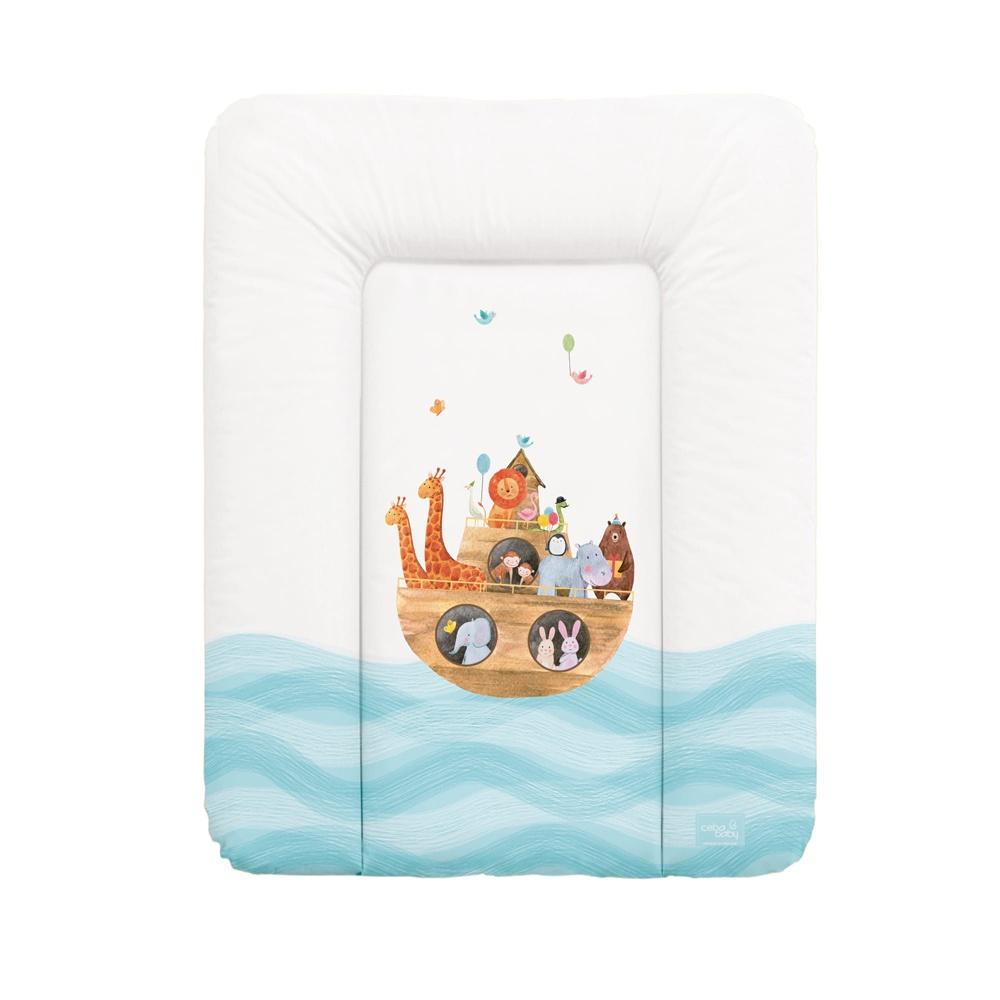 накладки для пеленания ceba baby накладка для пеленания с изголовьем 50х80 Матрац пеленальный Ceba Baby 70x50 см мягкий на комод Ark W-143-102-100