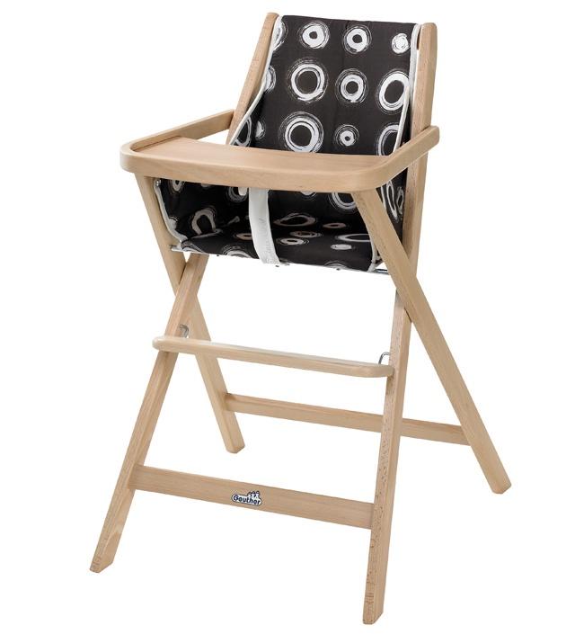 Складной детский стул для кормления Geuther Traveller стульчик для кормления geuther traveller натуральный