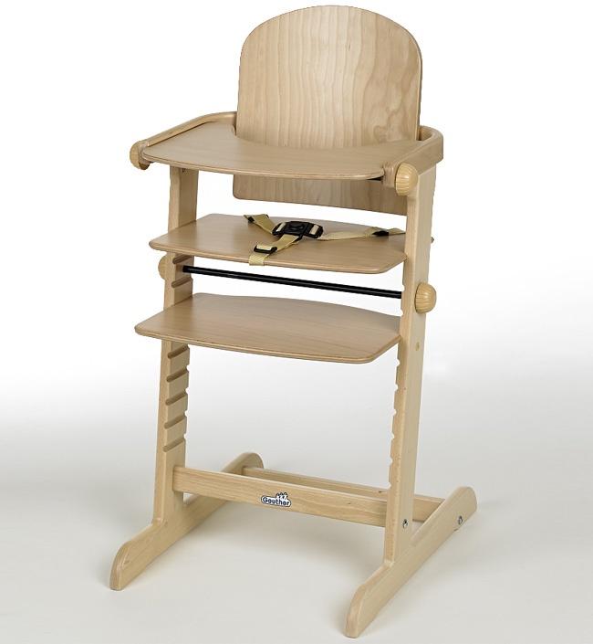 Стульчик для кормления Geuther Kid-Hit натуральный стульчик для кормления geuther traveller натуральный