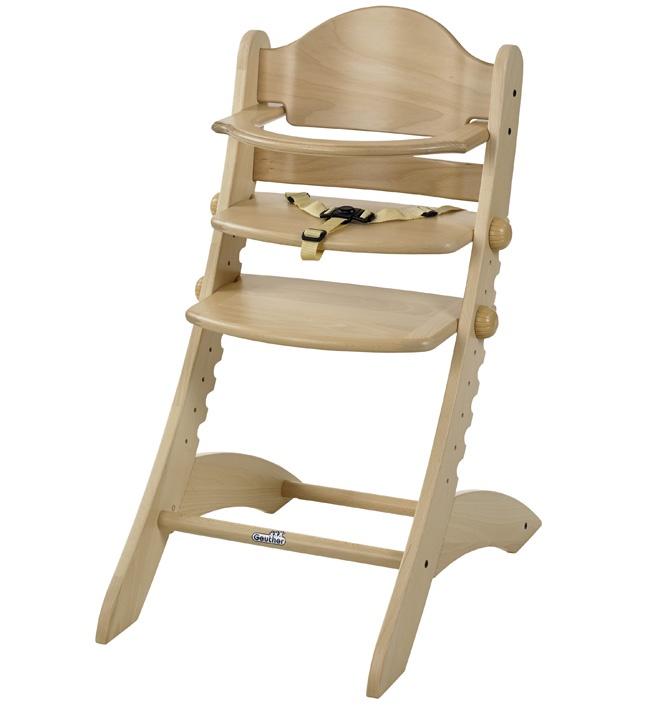 Стульчик для кормления Geuther Swing натуральный стульчик для кормления geuther traveller натуральный
