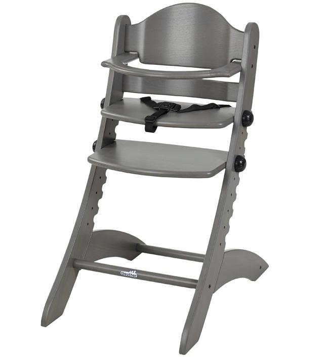 Стульчик для кормления Geuther Swing серый стульчик для кормления geuther traveller натуральный