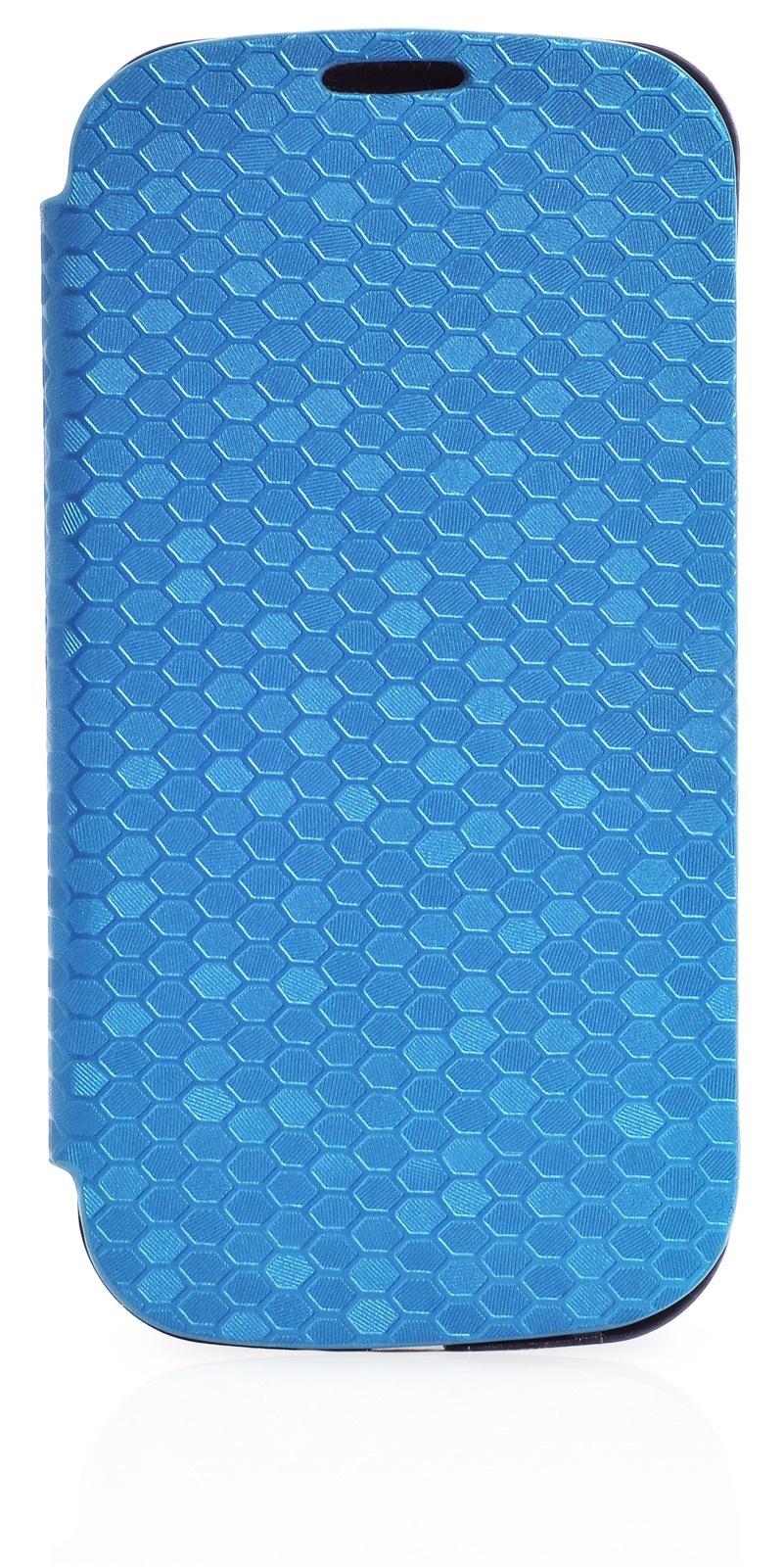 Чехол Gurdini Flip Case соты 380033 для Samsung Galaxy S3,380033, синий