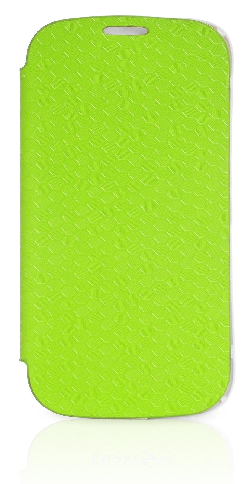 Чехол Gurdini Flip Case соты 380035 для Samsung Galaxy S3,380035, зеленый
