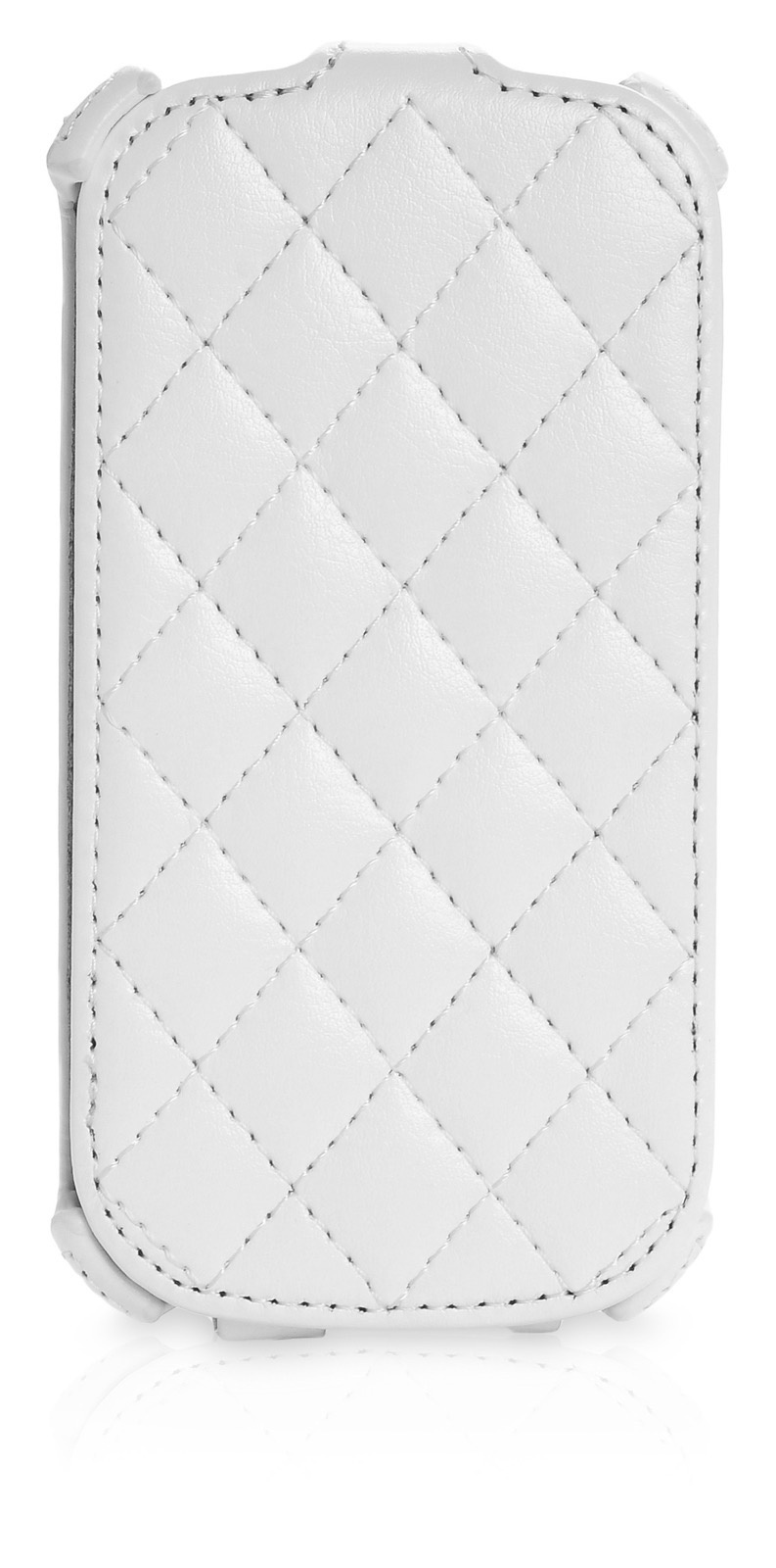 Чехол книжка Gurdini KUCHI стежка Samsung Galaxy S3 mini,420055, белый