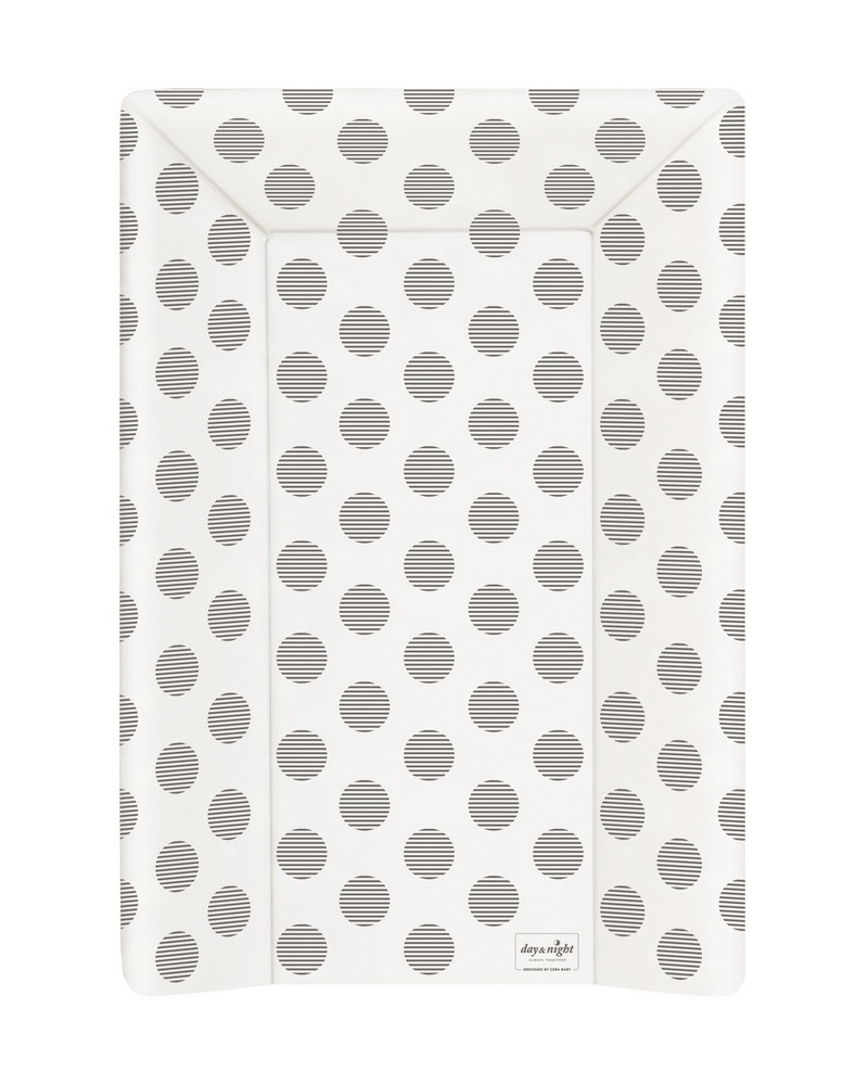 Матрац пелен. Ceba Baby 70 см с изг. на кровать 120x60 см Day Night Polka Dots W-201-094-523