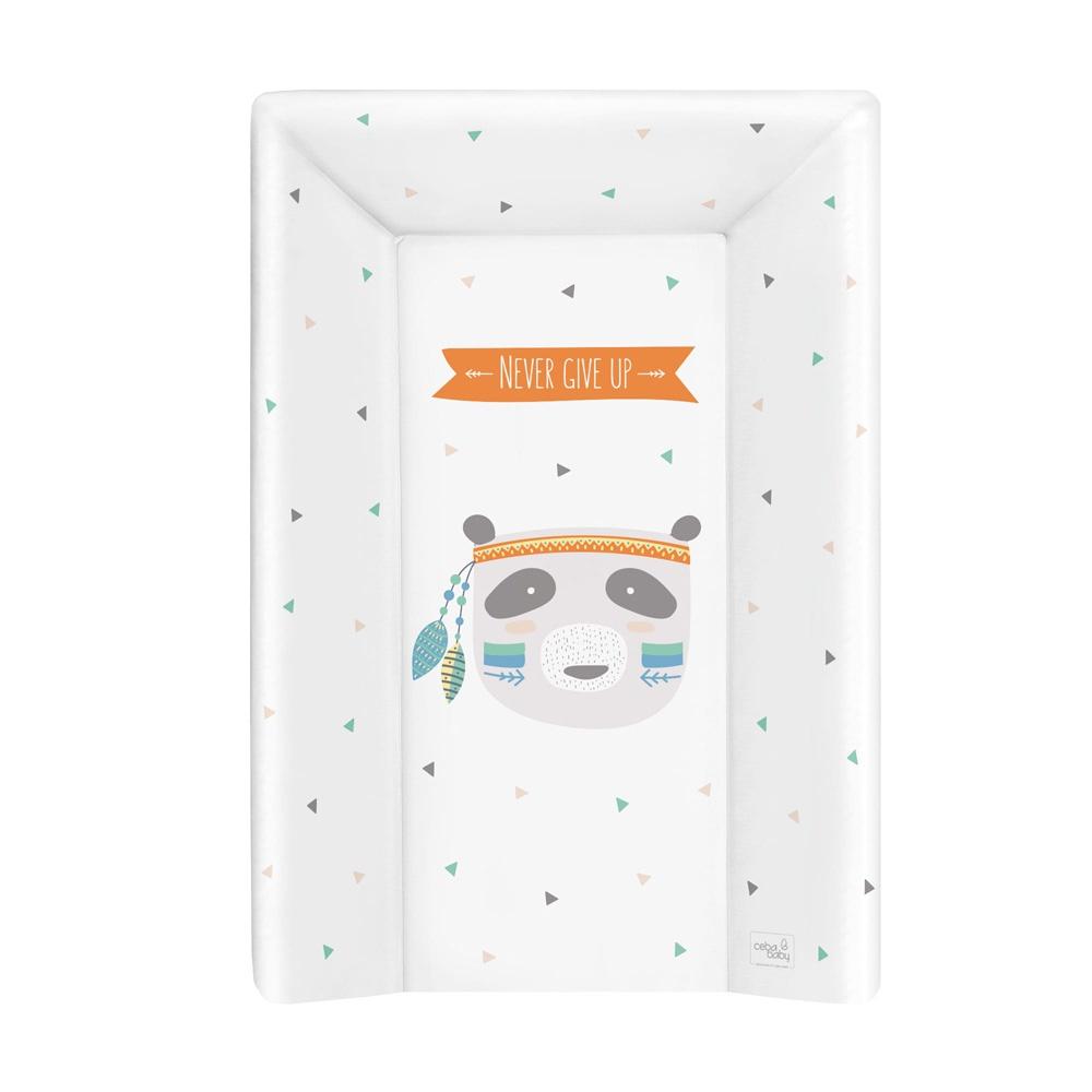 Матрац пеленальный Ceba Baby 70см с изголовьем на кровать 120x60 см Osito W-201-101-556
